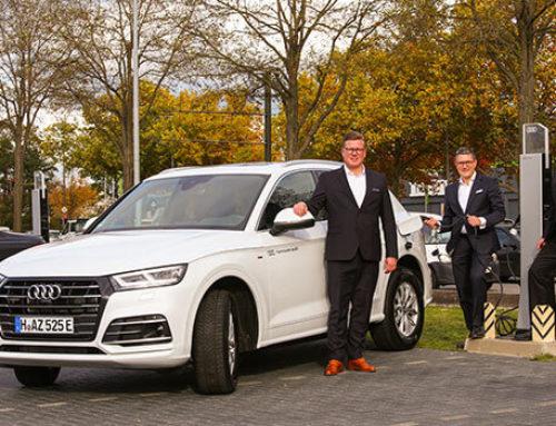 Größte Flexibilität mit Hybriden von Audi