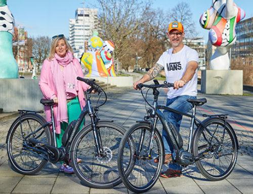 Mit dem Hannover-E-Bike klimaneutral unterwegs