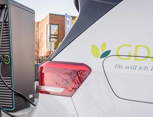 GDA und das Sanitätshaus steigen auf E-Autos um