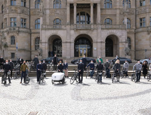 Hannovers Führungskräfte fahren zwei Wochen Rad